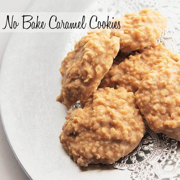 No Bake Caramel Cookies | Recipe