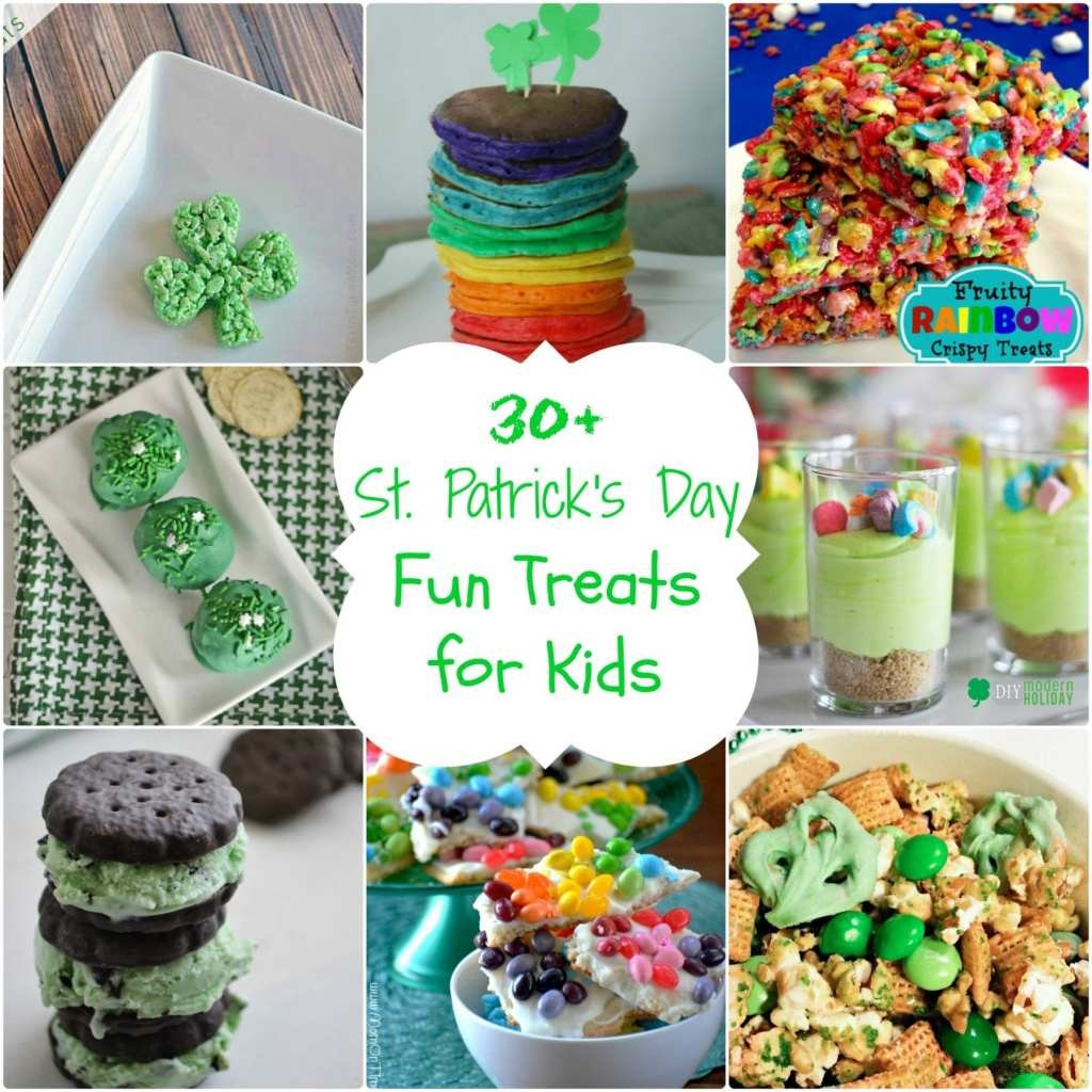 St. Patrick's Day Fun Treats for Kids