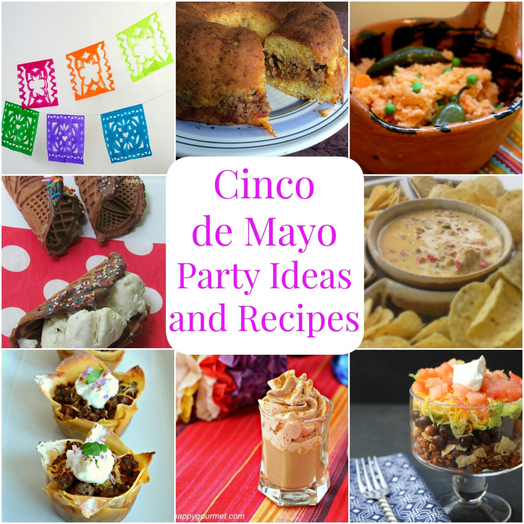 Cinco de Mayo Party Ideas and Recipes - Michelle's Party ...
