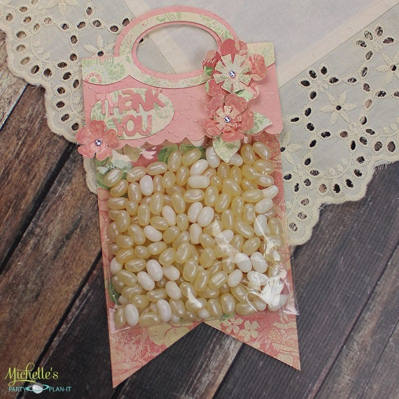 Pennant Treat Bag Toppers Sizzix Inspiration Michelle