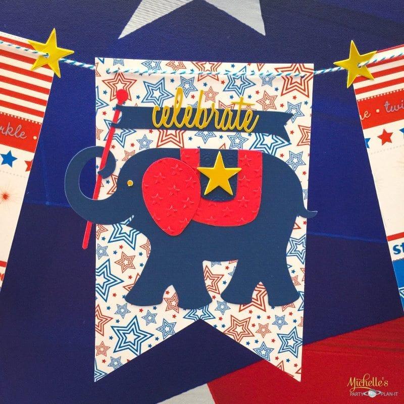 Patriotic Banner | Sizzix Tutorial