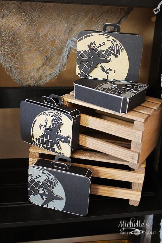 Adventurer Suitcase Favor Box