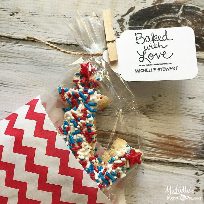 Fourth of July Cereal Treats | Expressionery Bakes