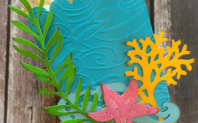 Under the Sea Party Favor Box | Sizzix Inspiration