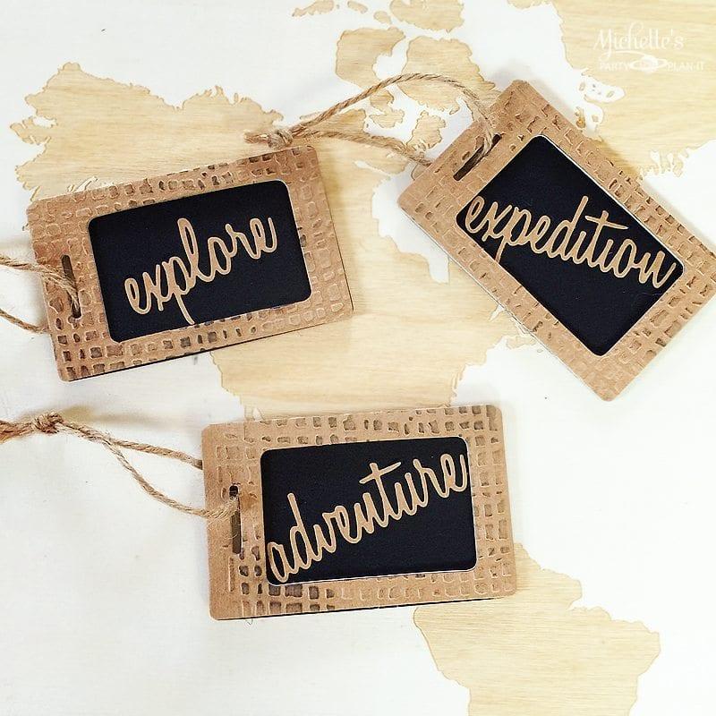 Adventure Luggage Tag| Sizzix Tutorial
