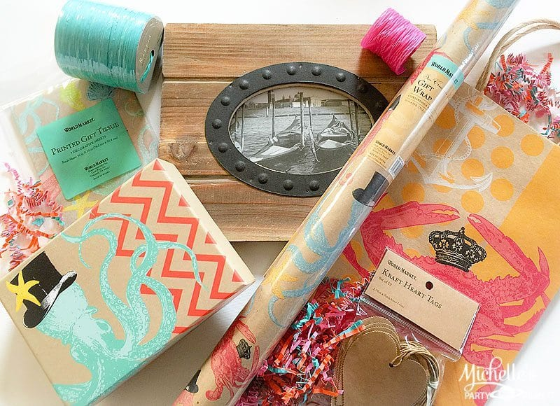 Expressionery Wraps with World Market | Gift Wrapping Ideas