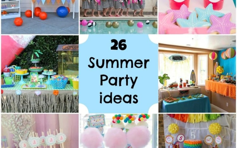 Summer Party Ideas!