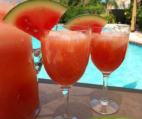 Melon cooler drink recipe