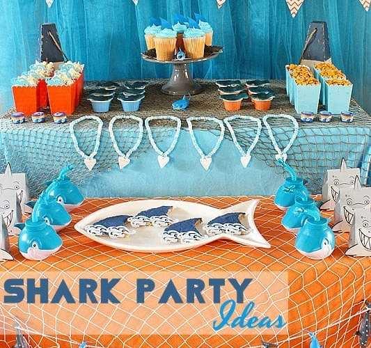 Shark Party Ideas | Summer Celebrations