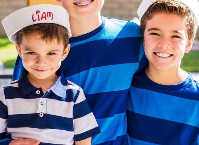 DIY Personalized Sailor Hats | Nautical Party Ideas