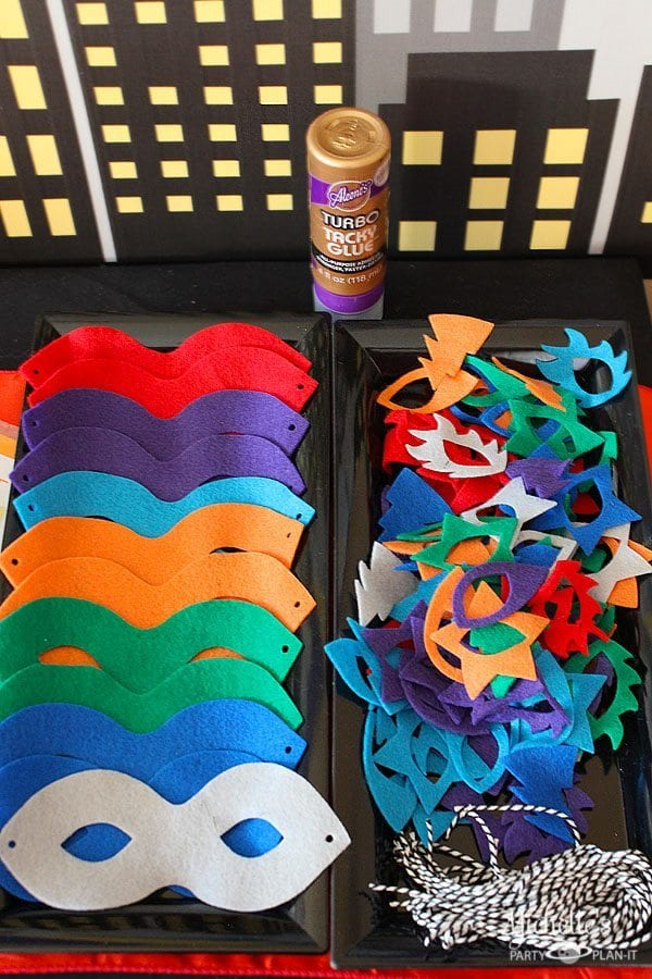 Make Your Own Super Hero Mask