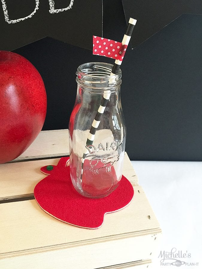 Apple Coasters for Teacher