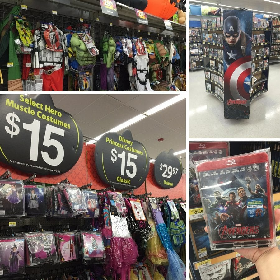 Avengers Costumes at WalMart