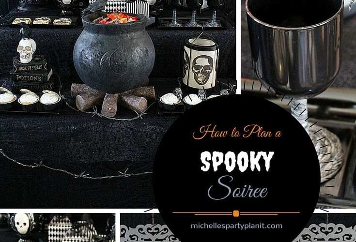 How To Plan A Spooky Soirée | Halloween Party
