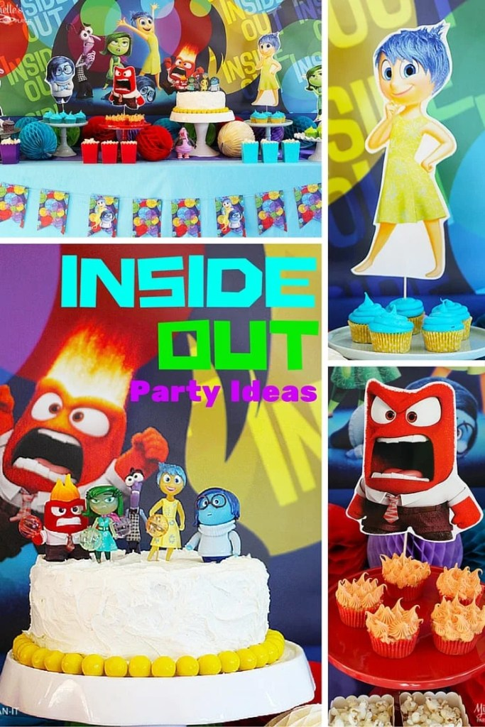 Inside Out Party Ideas   Party Decor and Desserts