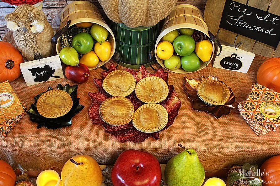 Harvest Pie Party