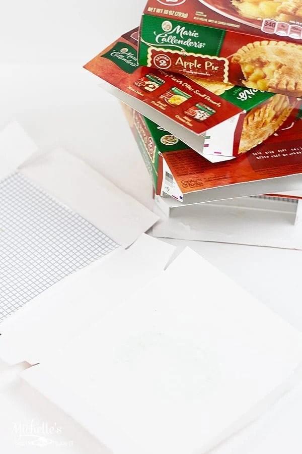 Upcycled Pie Box