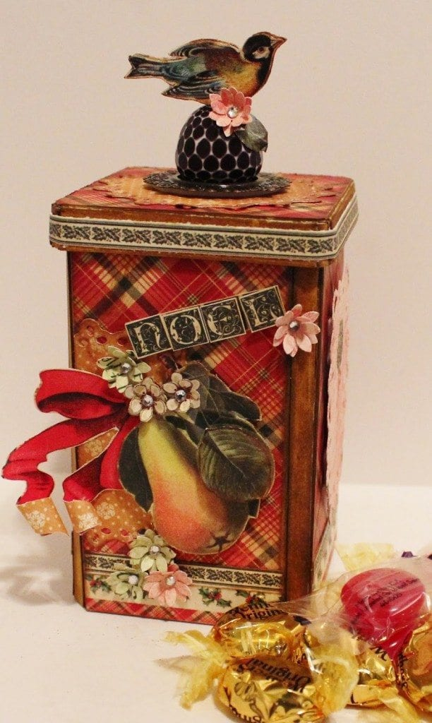 Holiday Tradition Candy Canister