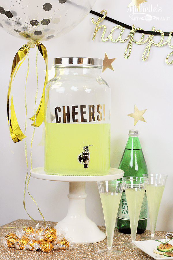 How To Make Easy New Year's Eve Party Favors - Michelle's ...