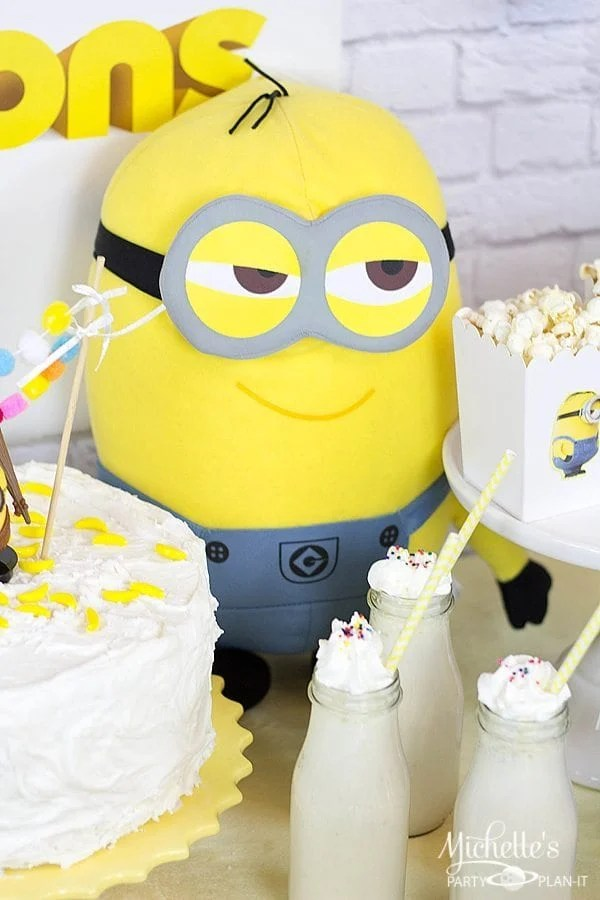Easy Minions Party Ideas Movie Watch Party Michelles Party PlanIt