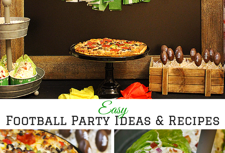 Football party recipes 1