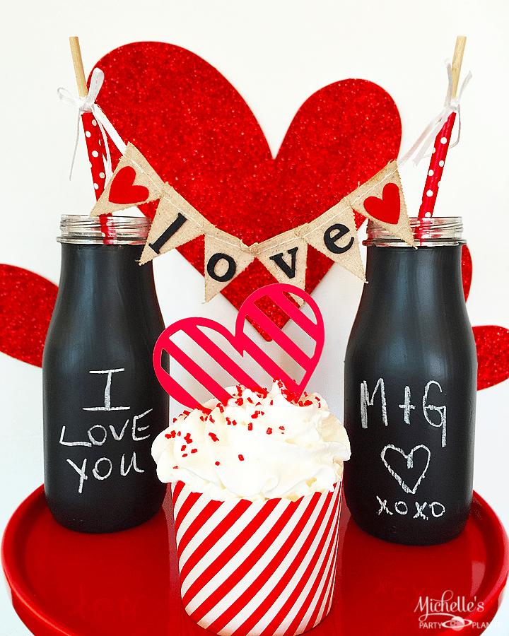 Love Note Chalkboard Glasses