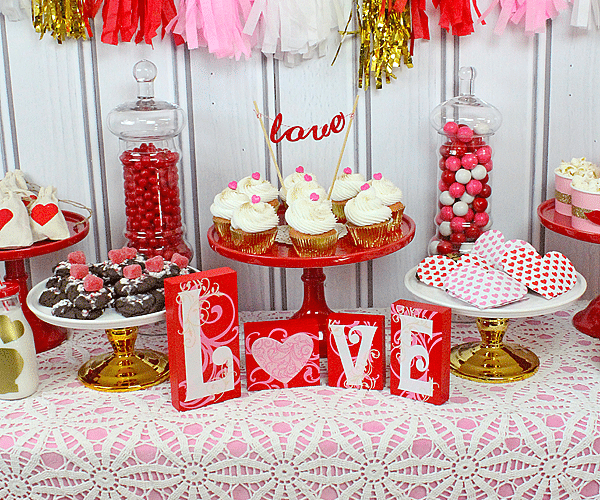 Easy Sweetheart Valentine's Day Party Ideas