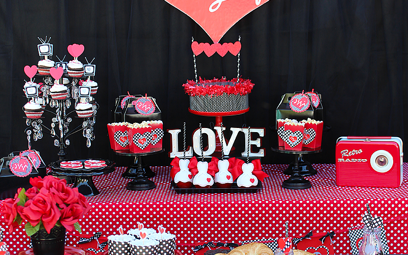 I Love Lucy Party | Galentine's Day