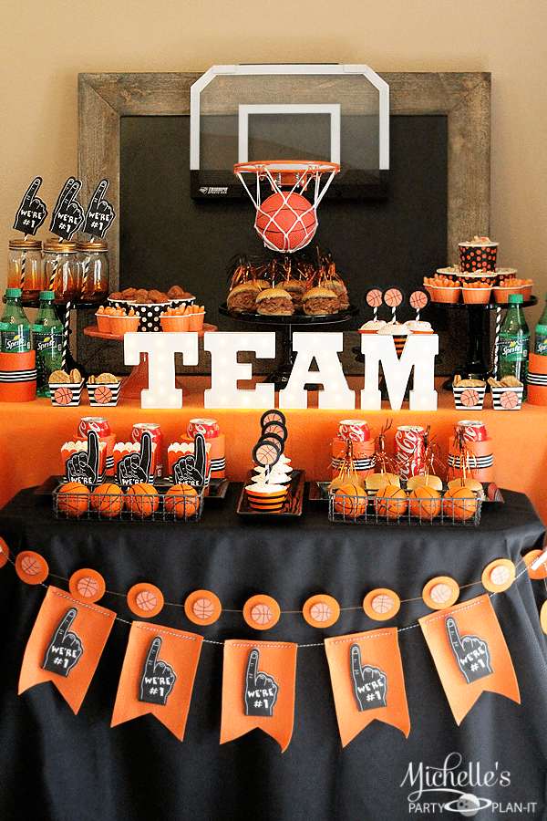 Munch Madness Basketball Party Ideas Michelle 39 S Party