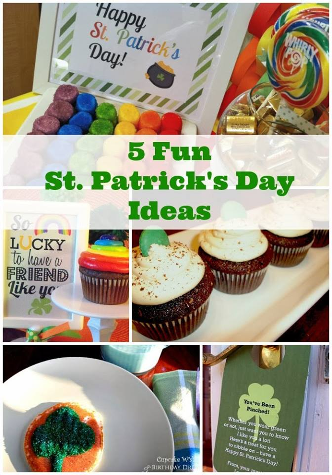 st. patricks day ideas