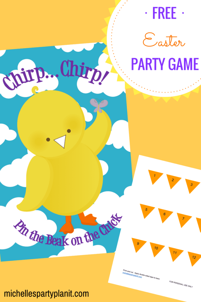 Easter Party Game by Michelle Stewart