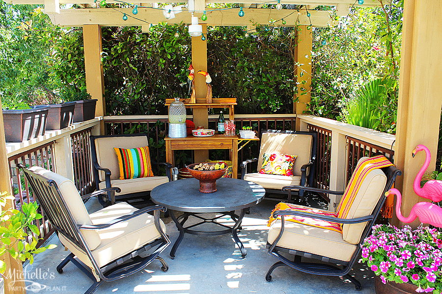 Nice World Market Outdoor Party Space Refresh