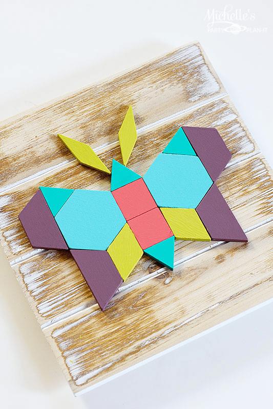Ideal Geometric Butterfly Wall Art
