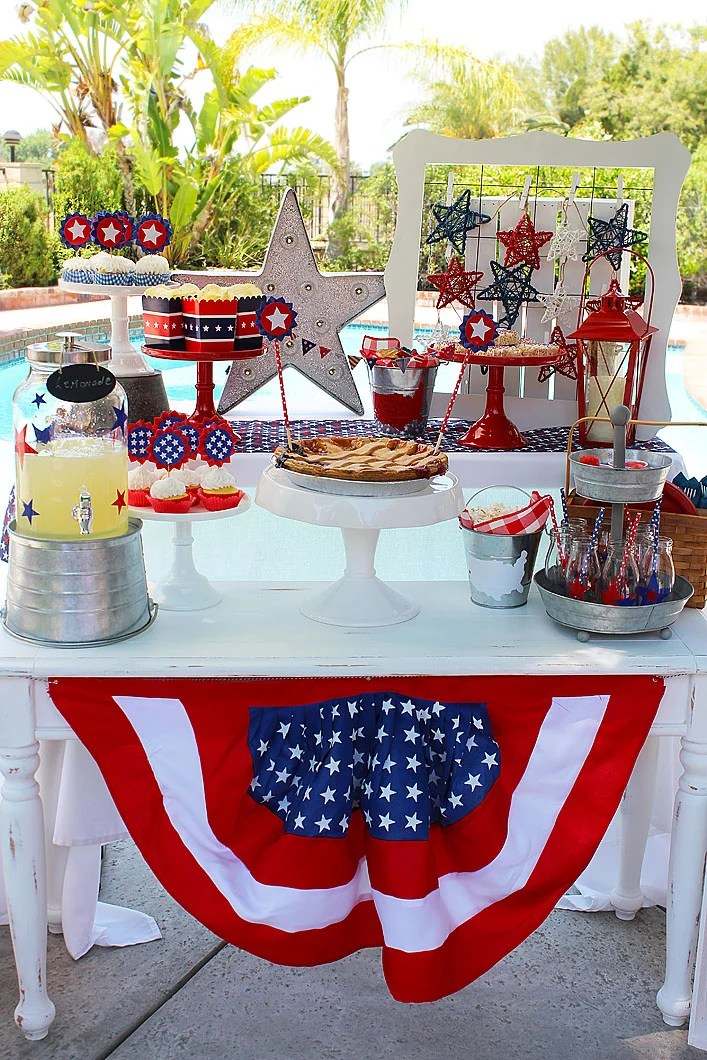 Red White and Blue BBQ
