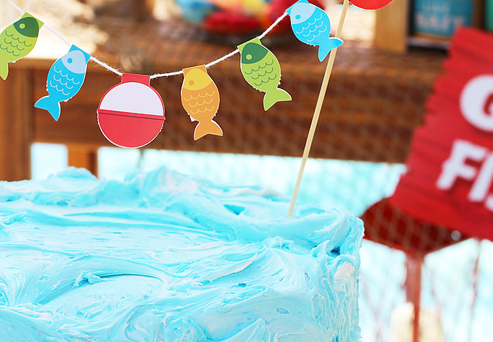 Little fisherman party ideas 10