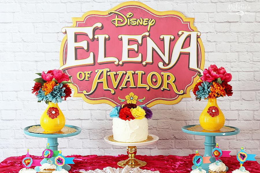 Princess Elena Of Avalor Birthday Party Idea