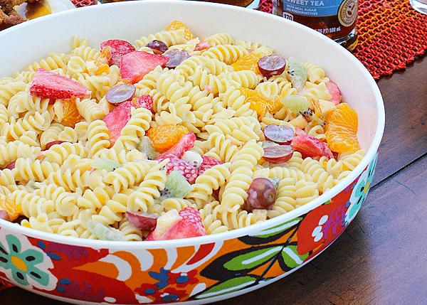 Pasta Fruit Salad – Summer Salad Recipe