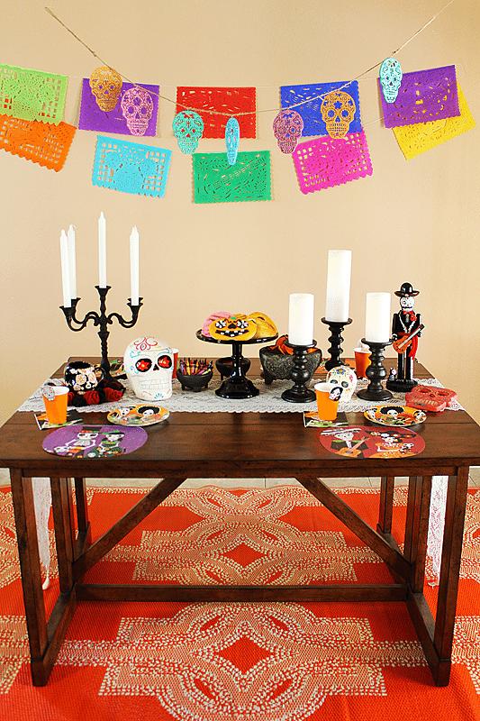 Dia de los Muertos Coloring Party