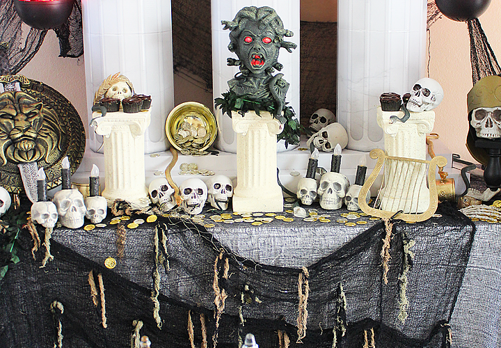 Teen Halloween Party Ideas | Greek Mythology Party