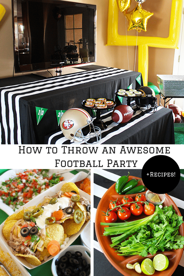 How to Throw an Awesome Football Party
