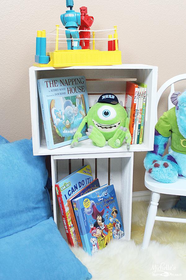 DIY Children's Reading Nook