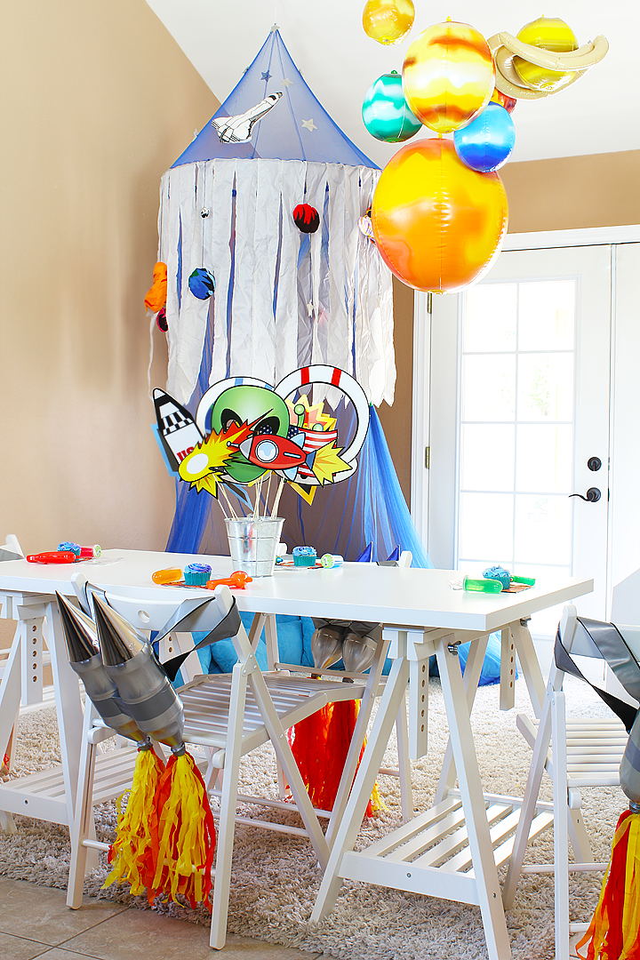 Outer Space Play Date Ideas