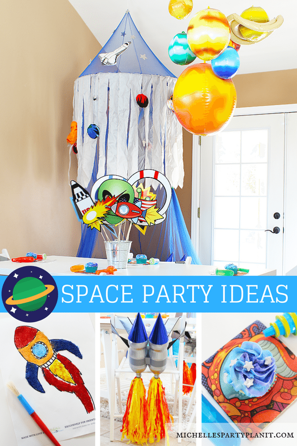 Space Party and Play Date Ideas