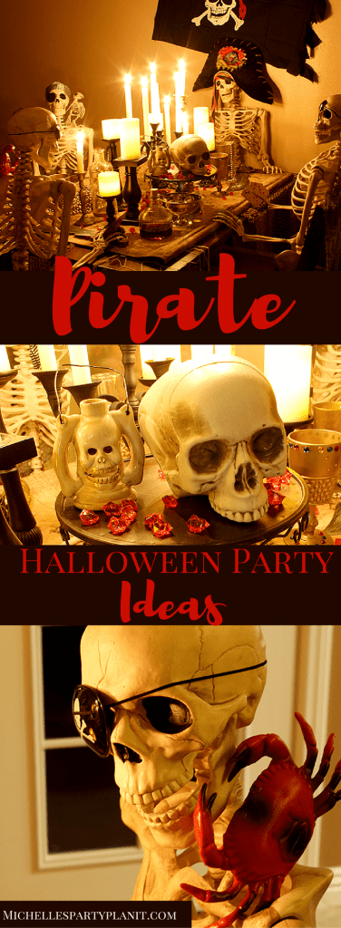 Pirate Halloween Party Ideas