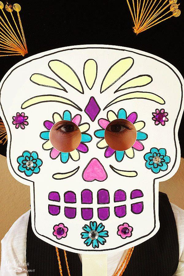 Dia de Los Muertos Masks with DecoArt