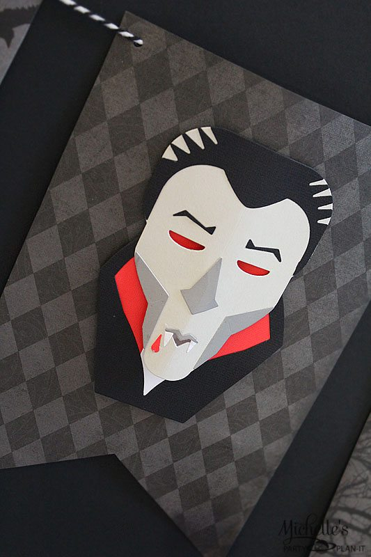 Vampire Halloween Banner