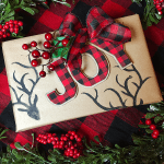 Easy Hand Painted Wrapping Paper