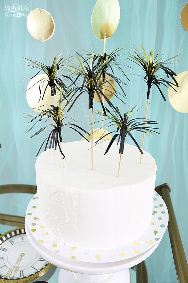 NYE Sparkle Cake