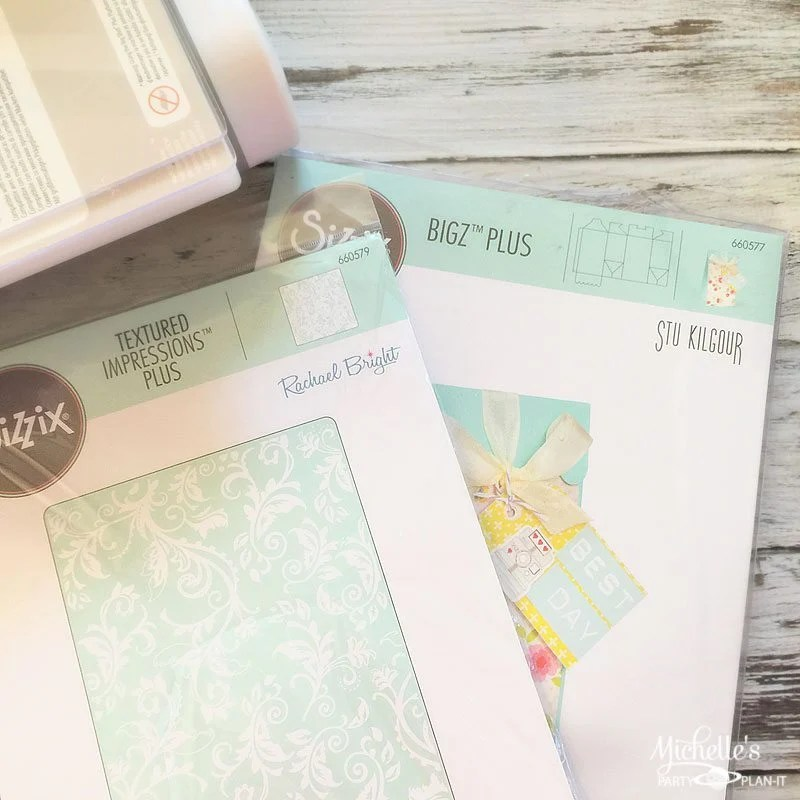 Embossed Party Favor Bags Sizzix Dies and Supplies