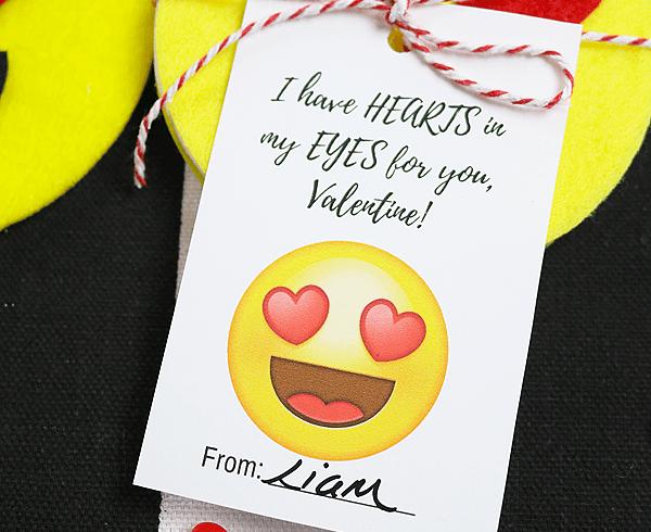 DIY Emoji Coasters & Printable Valentines